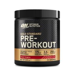 Gold Standard Pre Workout - Optimum Nutrition - 330g Fruit Punch