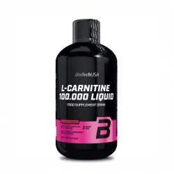 L - Carnitine 100.000 - Biotech USA - 500ml
