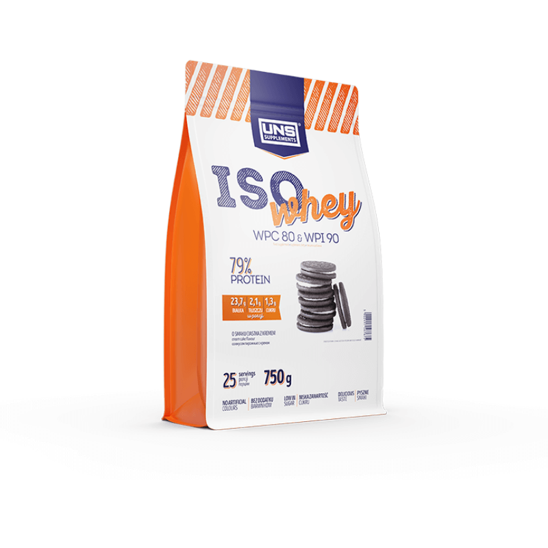 Iso Whey - UNS - 750g Cookie Creme
