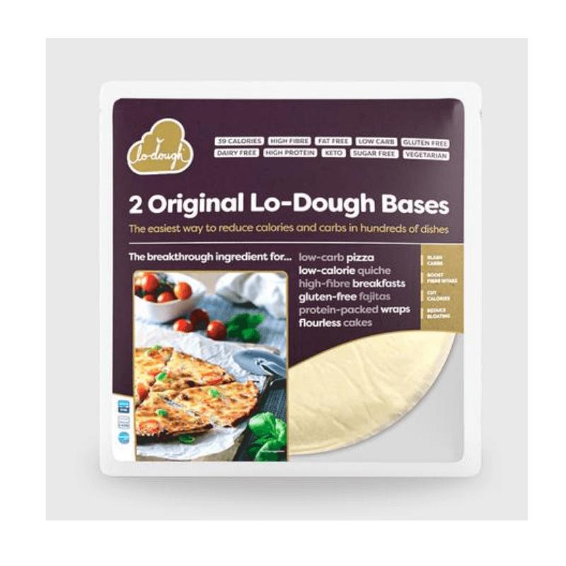 Pate à pizza low carb - Lodough