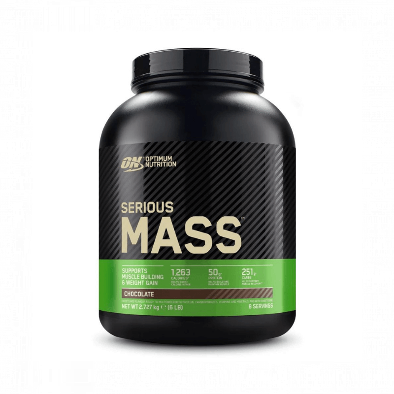 Serious Mass - Optimum Nutrition - Chocolat 2720g