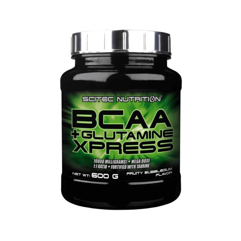 BCAA Glutamine Xpress - Scitec Nutrition - 600g Bubble Gum