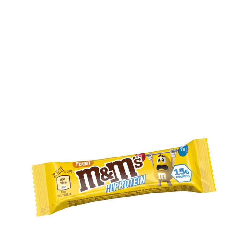 Barre HiProtein - M&M's - Beurre de cacahuètes