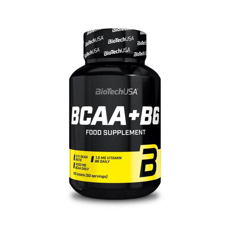 BCAA + B6 - Biotech USA - 100 tablets