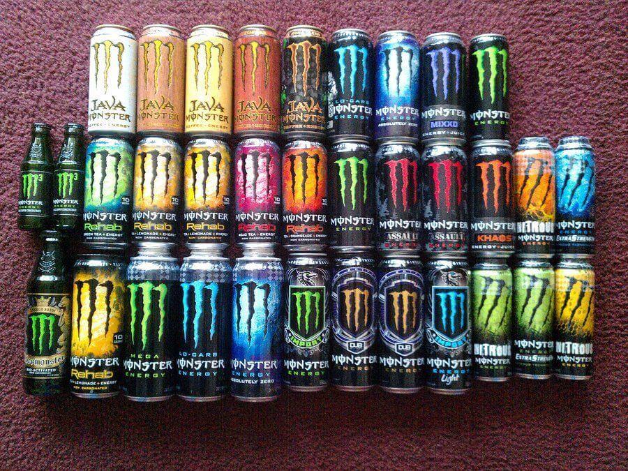 Boissons énergétiques : Monster Energy Collection
