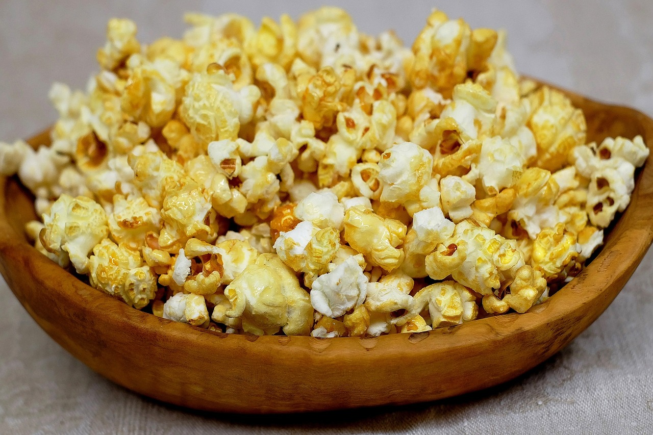 popcorn - Sucré & Salé - Team Nutrition